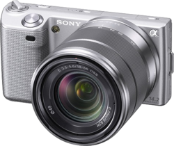 Sony NEX-5 Silber SEL 18-55 .png